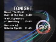 Sky Channel lineup 1989 2