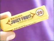 Juicy Fruit TVC - 1-29-1989 - 1