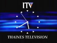 Thaines clock 1989
