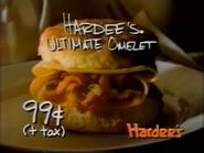 Hardee's Ultimate Omelet URA TVC 1994