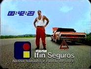 Sigma Ifin Seguros clock 1995