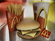 McDonalds Double Cheeseburger PS TVC 1997 2
