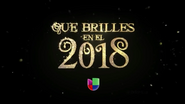 Univision promo - New Years 2017-18
