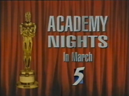 CH5 promo - Academy Nights in March - 1996