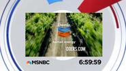 MSNBC clock - Chevron (2017)