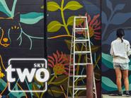Sky Two ID - Mural - 1998