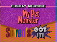 Seven promo - My Pet Monster - 1992