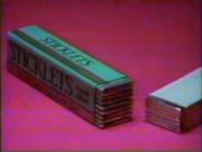 Sticklets TVC - September 7, 1986 - 1