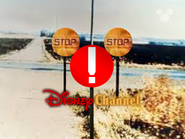 Disney Channel ID - Caution Signs (1999)