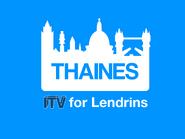 Thaines 1986 ITV ID - 2