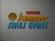 Toyota Summer Sales Event URA TVC 1994 - 1