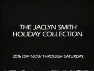 Kmart URA - Jacklyn Smith Holiday Collection TVC 1991 - Part 1