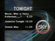 Sky Channel Tonight lineup 1989 2