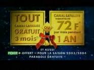 CanalSatellite TVC RL Christmas 2003 1