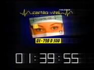 SRT clock - Cartao Vital - March 23, 1997 - 1