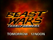 CH5 promo - Transformers Beast Wars - 1997