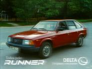 Delta Runner MTS ad 1986