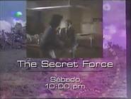Telemundo promo - The Secret Force - 1996