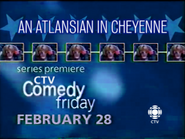 CTV promo - An Atlansian in Cheyenne - 2003