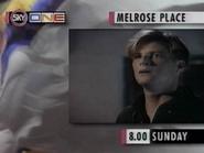 Sky One promo - Melrose Place - 1995
