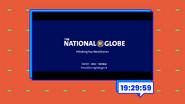 Globevis clock - The National Globe (2018)