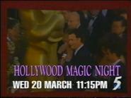 CH5 promo - Hollywood Magic Night - 1996