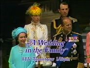 ITV promo - A Wedding in the Family - 1981
