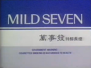 TBG Pearl - Mild Seven sponsor tag - 1987