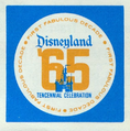 10th Anniversary of Disneyland logo - 1965.png