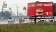 McDonald's Sunnyville, West Cybersland billboard 1