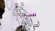 Sky Arts 1 ID - Freestyle - 2012
