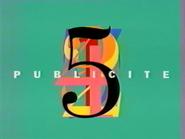Télécinq ad id 1991
