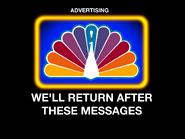 NBC commercial break ID 1980