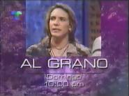 Telemundo promo - Al Grano - 1996