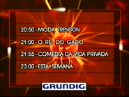 SRT lineup promo with Grundig logo - 1996