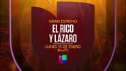 Univision promo - El Rico y Lazaro - 2017