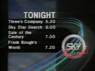 Sky Channel Tonight lineup 1989 1
