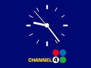 Channel 4 clock 1973
