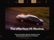 Hokusan V6 Maxima NEU TVC 1997 1