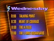 TCP5 schedule bumper (April 19, 1995)