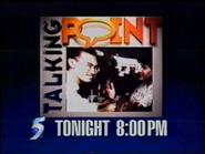 CH5 promo - Talking Point - 1995