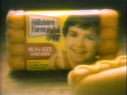 Hillshire Farm Bun-Size Weiners TVC - 5-15-1988 - 1