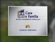 SRT sponsorship billboard - Mundial Confianca - 1997