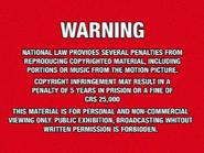 Shawston HV 1975 warning VHS