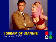 Channel 4 promo - I Dream of Jeannie - 1973