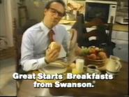 Swanson Great Starts Frozen Breakfast Sandwiches TVC - March 1987 - 3