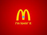 Mcdonalds cheyenne golden arches forming logo