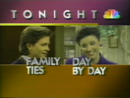 NBC promo - Family Ties and Day By Day - 1-29-1989