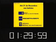 SRT clock - Souto Mayor, Motta, and Credito Predial - December 1998