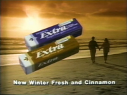 Extra Winter Fresh and Extra Cinnamon TVC - 1-29-1989
